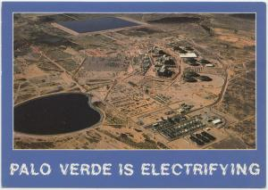 PALO VERDE NUCLEAR GENERATING STATION, ARIZONA, unused Postcard