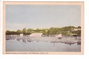 Regatta Course and Grand Stand, Port Dalhousie, Ontario, St Catherines
