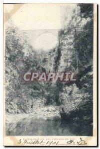 Old Postcard The Devil Bridge near Nans in Ste Anne