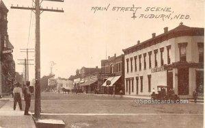 Main Street in Auburn, Nebraska