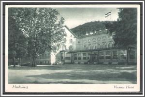 Germany, Heidelberg - Victoria Hotel - [FG-128]
