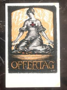 Mint Germany Picture Postcard WWI Red Cross opfertag