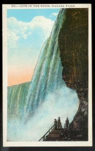 Cave of the Winds Niagara Falls New York unused c1920's