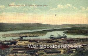 República de Panamá Balboa Machine Shops Panama Canal