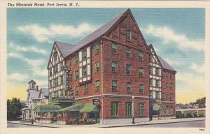 New York Port Jervis The Minisink Hotel