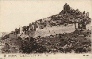 CPA Valence Ruines de Crussol FRANCE (1091549)
