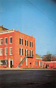 Bloomfield Iowa~Exchange Bank~b1840~Rebekah Lodge c1868 on Third Floor~1960s PC