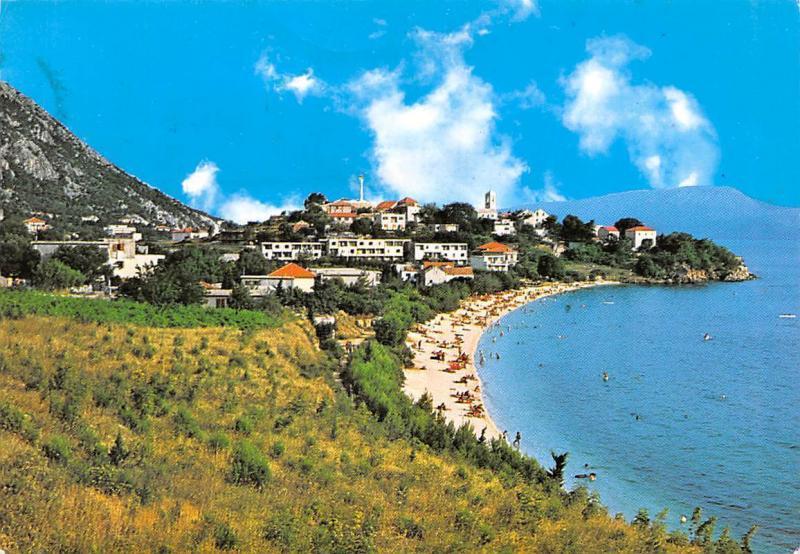 Carte Croatie Gradac.Croatia Gradac Split Dalmatia County Beach Plage General