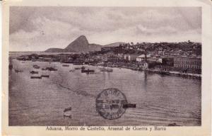 Santiago - Aduana, Morro de Castello & Arsenal 1908