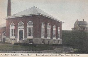 HANSON , Mass. , 00-10s ; Pumping Station , Brocton Water works