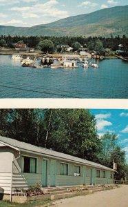 SICAMOUS , B.C. , Canada ,1950-60s ; Lazy-Daze Motel & Marina