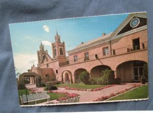 San Felipe De Neri Church Postcard, Old Albuquerque, New Mexico
