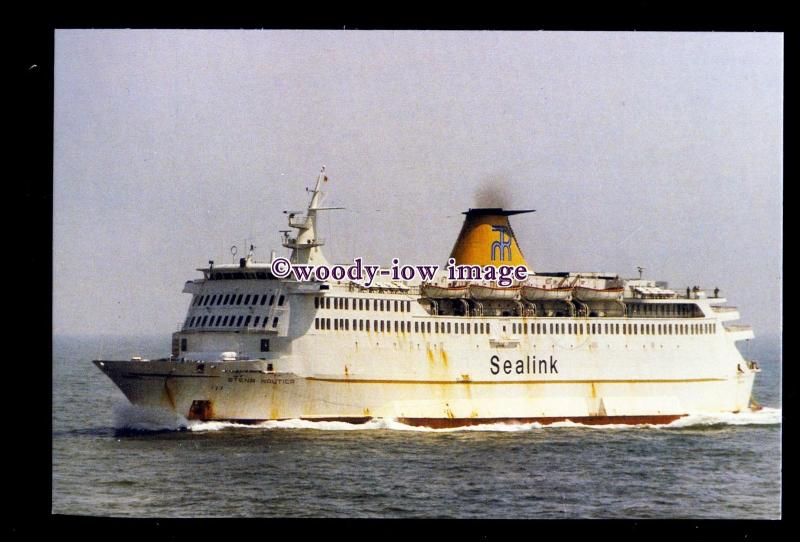 SIM0258 - RMT-Sealink Chartered Ferry - Stena Nautica , built 1974 - postcard