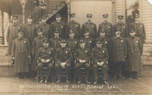 RP: MARION , Indiana , 1900-10s ; Metropolitan Police Dept.