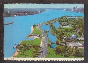 Belle Isle Detroit MI Postcard BIN