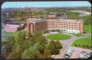 New York University of Rochester Aerial of Women's Residence Hall - Chrome