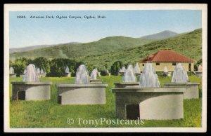 Artesian Park, Ogden Canyon