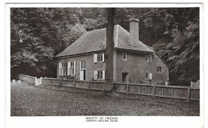 UK Buckinghamshire Jordans Meeting House Quakers Society of Friends Vtg Postcard
