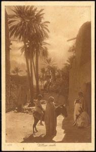Native Arab Village, Donkey (1920s) Lehnert & Landrock 139
