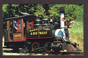 CA Roaring Camp Train Railroad FELTON CALIF CALIFORNIA