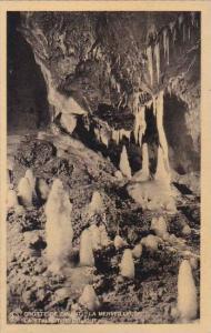 Belgium Grotte de Dinant La Merveilleuse La Stalactite Oblique