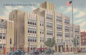 A. Harry Moore School - Jersey City NJ, New Jersey pm 1943
