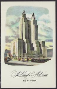 Waldorf Astoria Hotel,New York,NY