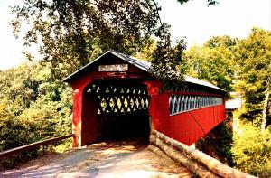 VT - East Arlington. Chiselville Covered Bridge  (6 X 9)