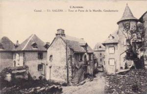 Tour Et Porte De La Martille, Gendarmerie, Salers (Cantal), France, 1900-190s