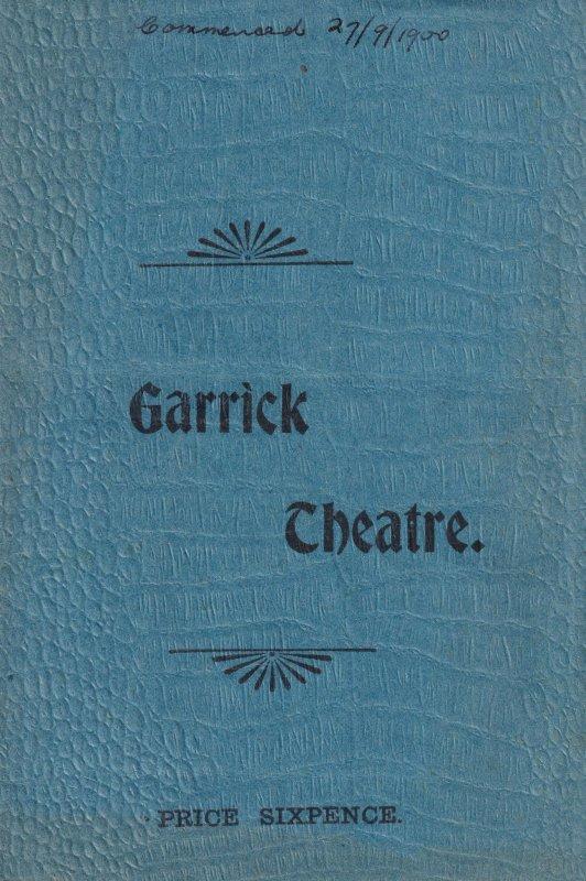 The Wedding Guest Martin Harvey Antique Garrick Theatre Programme