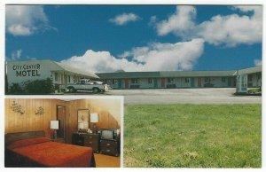 Gold Beach, Oregon, Vintage Postcard Views of City Center Motel