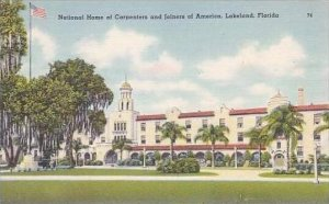 Florida Lakeland National Home of Carpenters and Joiners of America Tichnor