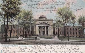 CHARLOTTE , North Carolina , PU-1908 Presbyterian College , TUCK