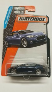 Matchbox Car # 24 Tesla Model S