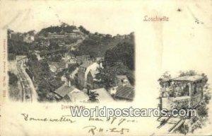 Drahtseilbahn Loschwitz Germany 1912