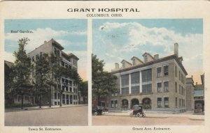 COLUMBUS, Ohio, 1920 ; Grant Hospital