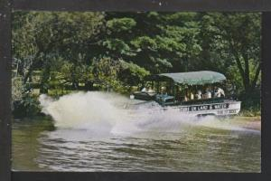 Spectacular Re-entry,Duck,Wisconsin Dells,WI Postcard