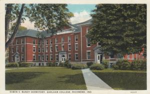 RICHMOND , Indiana, 10-20s; Edwin S. Bundy Dormitory, Earlham College