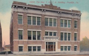 FRANKLIN, Pennsylvania, 1900-1910's; The New Y.M.C.A. Building