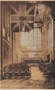 CHRISTCHURCH, UK, 1910's; The Lady Chapel ,The Priory ; TUCK