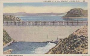 New Mexico Hot Springs Elephant Butte Dam