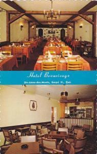 2-Views, Hotel Beaurivage, Ste-Anne-des-Monts, Gaspe' N., Quebec,  Canada,  4...
