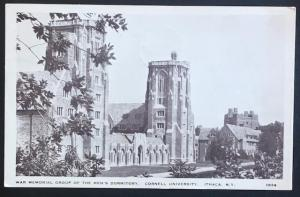 Men's Dormitory Cornell University Ithaca NY 1936 Stantway Photo Craft 1939