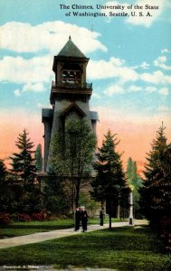 Washington Seattle The Chimes University Of Washington Curteich