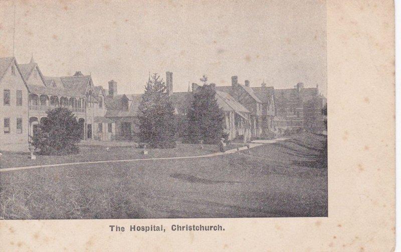 CHRISTCHURCH, New Zealand, 1900-1910's; The Hospital
