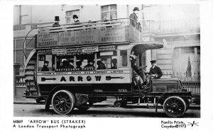 Arrow Bus Straker A London Transport Postcard