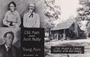 Missouri Branson Shepherd Of The Hills Old Matt & Aunt Molly Real Photo
