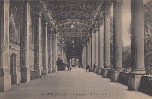 BADEN-BADEN, Baden-Wurttenberg, Germany , 1900-10s ; Saulengang der Trinkhalle