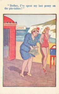 Comic Postcard Garland, Rudolf & Co. W117, Seaside Joke, Humour KM2