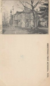 KENOSHA , Wisconsin, PMC 1898 ; Kemper Hall